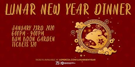 Lunar New Year Dinner tickets