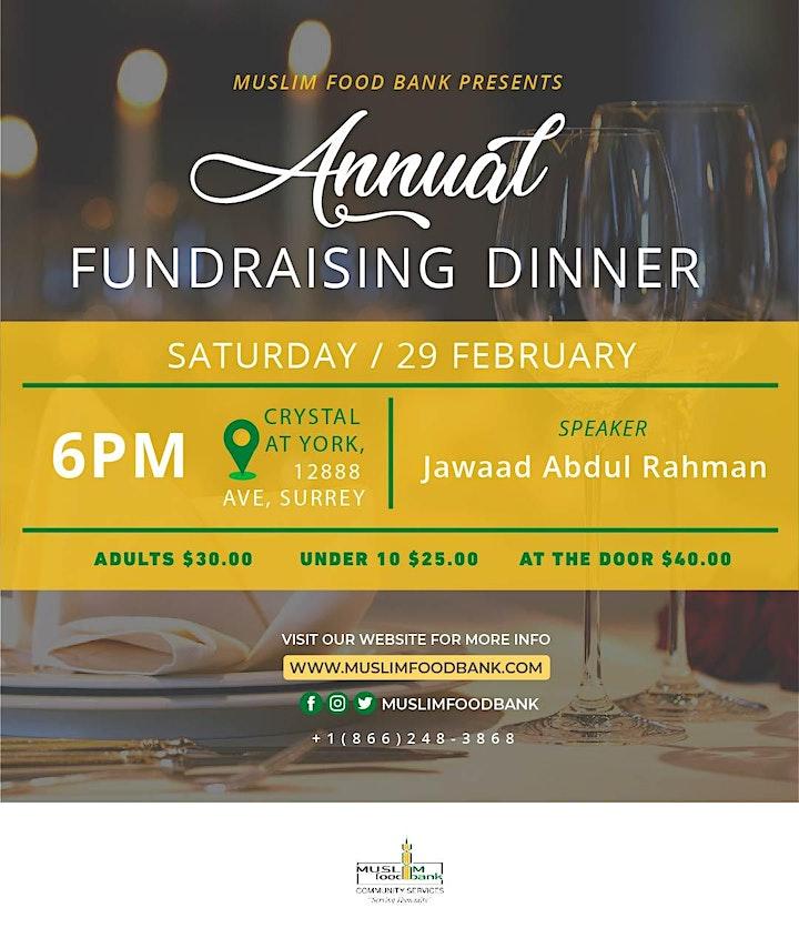 MFBCS Fundraising Dinner 2020 image