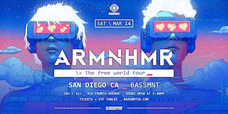 ARMNHMR at Bassmnt Saturday 3/14 tickets