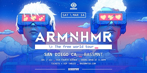 ARMNHMR at Bassmnt Saturday 3/14