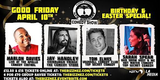Funny Bizznez Comedy Bournemouth, Easter & Birthday Special!