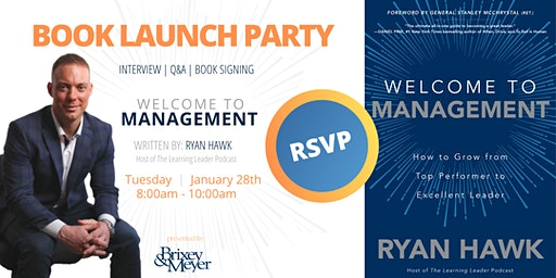 WELCOME TO MANAGEMENT Book Launch Party