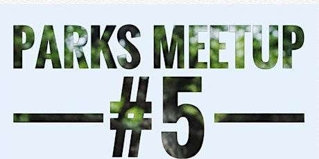 PARKS Meetup #5: Ontwikkel jezelf met elkaar tickets