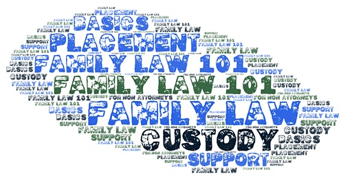 Know The Law on Family Law 101