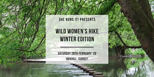 SHE RUNS IT! WINTER EDITION WILD WOMEN'S HIKE TRIP