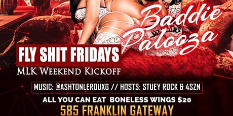 Fly Shit Fridays /MLK Weekend Party at Tiger Tiger Lounge tickets