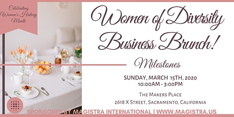 2020 Women of Diversity Business Brunch - Sacramento! tickets