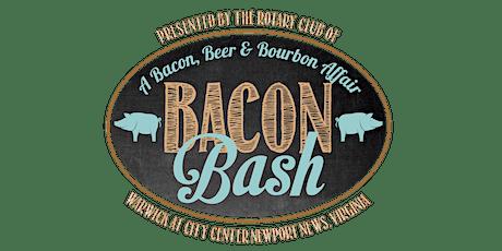 Bacon Bash 2020  A Bacon, Beer & Bourbon Affair tickets