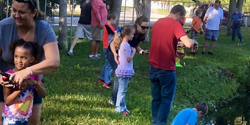 SONFISHERS Kids & Family Catch & Release Fishing Clinic