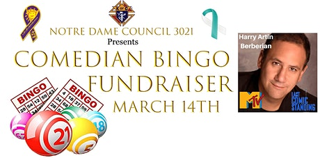 Comedian Bingo Fundraiser tickets