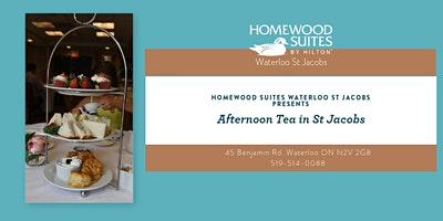 Afternoon Tea in St Jacobs