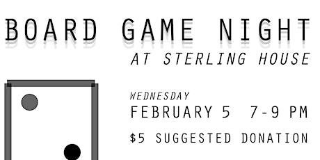 Board Game Night @ SHCC tickets