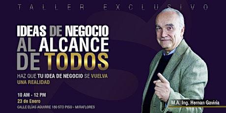 IDEAS DE NEGOCIO AL ALCANCE DE TODOS entradas