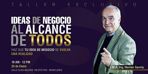 IDEAS DE NEGOCIO AL ALCANCE DE TODOS