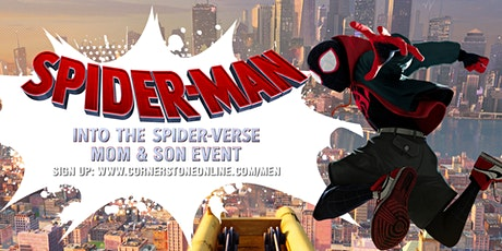 FREE Mom and Son Movie Night: Spiderman: Into the Spiderverse tickets