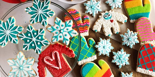 Sweater Weather Cookie Decorating Workshop for Kids and Adults