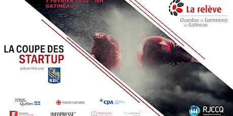 La Coupe des startup à Gatineau présentée par RBC - Pitchs tickets