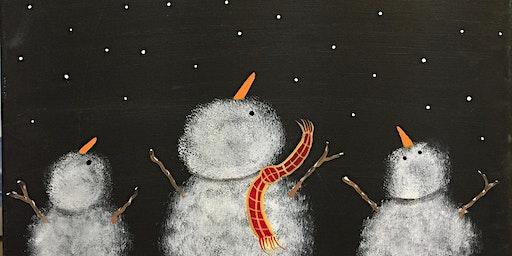 Children's Snowman Paint Party