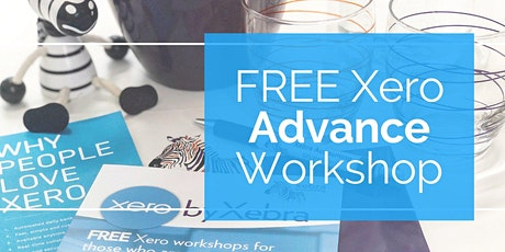 FREE Xero Advance Workshop - Maximising financial control tickets