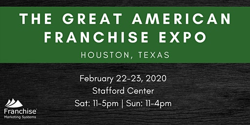 The Great American Franchise Expo: Houston, TX