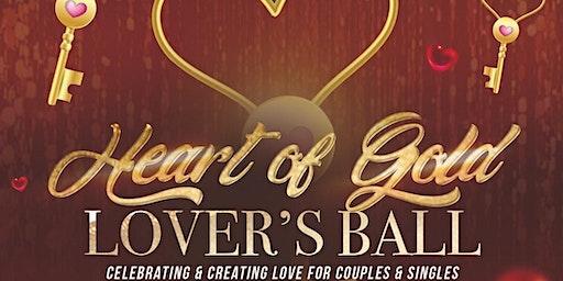 """Heart of Gold Lover's Ball"".. A Golden Touch Event"