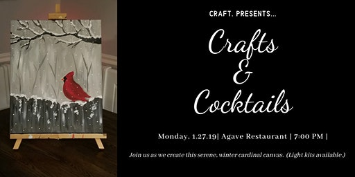 Crafts & Cocktails: Canvas Night!