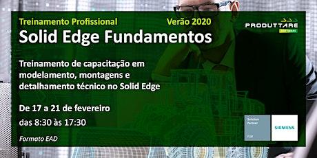Treinamento de Solid Edge Fundamentos - EAD ingressos