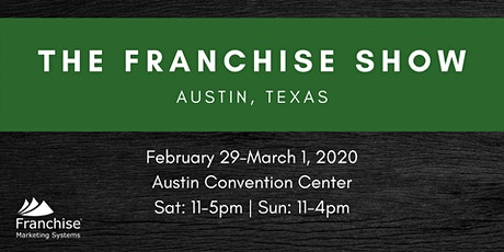 The Franchise Show: Austin, TX tickets