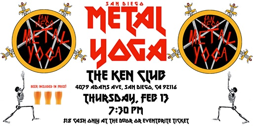 San Diego Metal Yoga 2/13