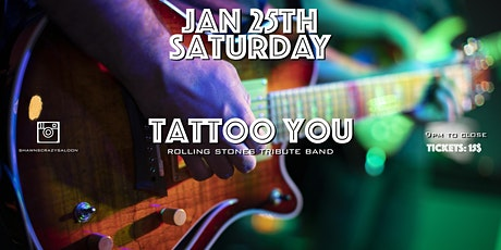 Rolling Stones Tribute with Tattoo You at  Shawn's Crazy Saloon tickets