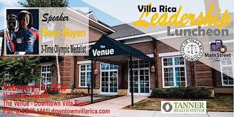 Villa Rica Leadership Luncheon Series | February 12, 2020 tickets