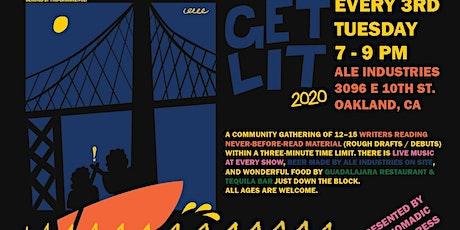 Get Lit #58 (Music by: TBA) tickets
