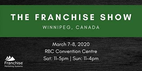 The Franchise Show: Winnipeg, Canada tickets