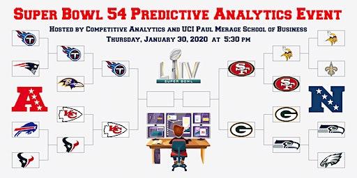Super Bowl 54 Predictive Analytics Event!