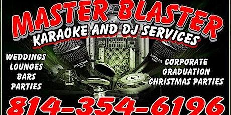 LIVE MUSIC - Master Blaster 6:30pm-9:30pm tickets