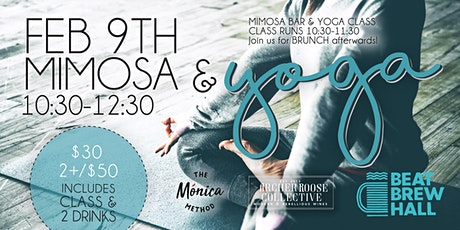 Yoga & Mimosas tickets