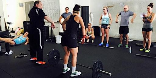 CrossFit Acadia Cohen Weightlifting Seminar