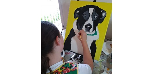 Paint your own Pet Paint Party