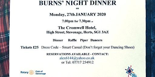 Burns Night Hits Stevenage