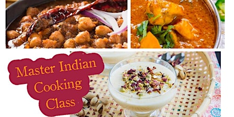 Master Indian Cooking Class with Chef Gurjyote Sethi tickets