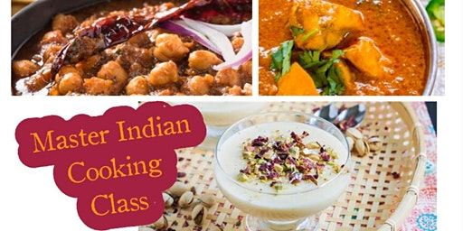 Master Indian Cooking Class with Chef Gurjyote Sethi