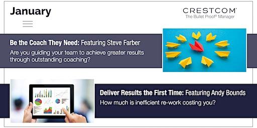Crestcom's Bulletproof Manager, a Leadership Development Program