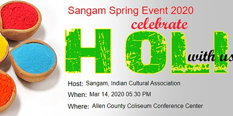 Sangam Spring Event 2020 tickets