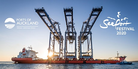 Ports of Auckland Charity Crane Tours at SeePort Festival 2020 tickets