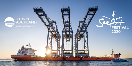 Ports of Auckland Charity Crane Tours at SeePort Festival 2020