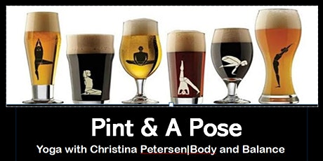 Pint and Pose - Yoga tickets