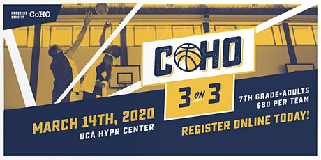 CoHO 3v3 Basketball Tournament tickets