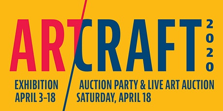 ART/CRAFT 2020: Gala and Live Art Auction tickets