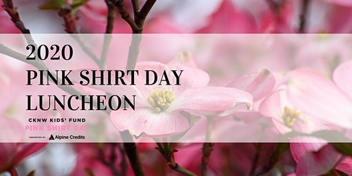 Pink Shirt Day Luncheon 2020