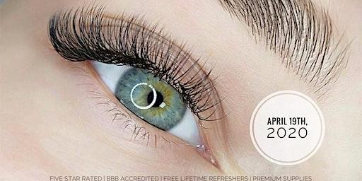 Classic Eyelash Extension Training by Pearl Lash Boca Raton 4/19/2020